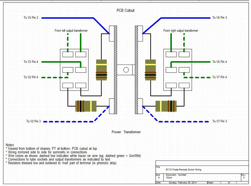 ST 70 T P sw wiring L just started an st 70 kit dynaco st70 wiring diagram at reclaimingppi.co